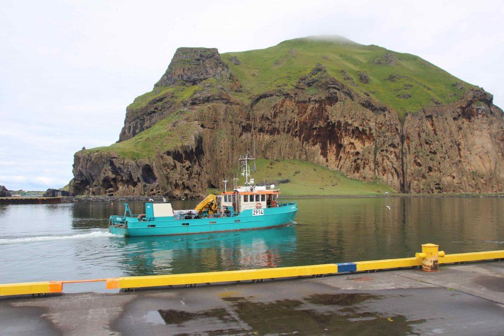Þangbrandur kom við í Vetmanneyjum á siglingu sinni frá Hollandi