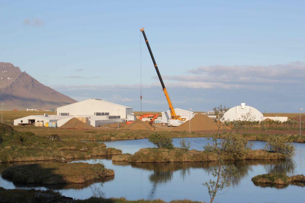 Stórahúsið reyst sumarið 2012